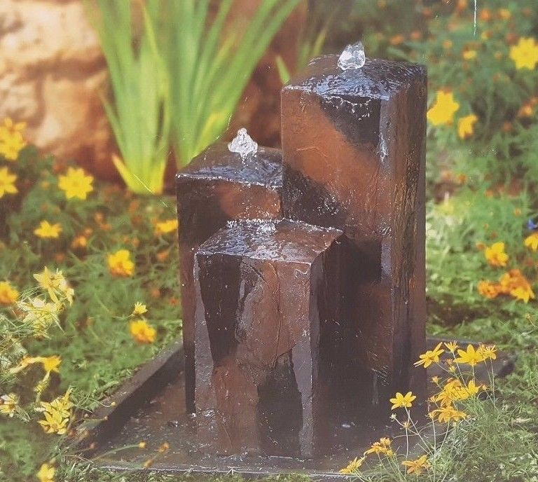 Garden Fountain New In Box Linens N Things