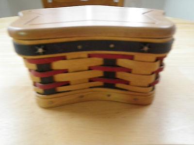 Longaberger 2003 Proudly American Little Star Basket Set