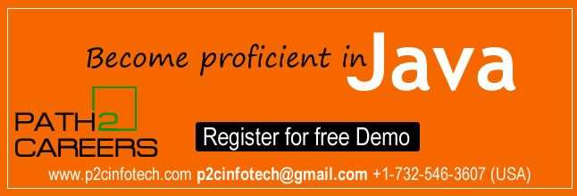 Best Java Online Training and Job oriented - Free Demo