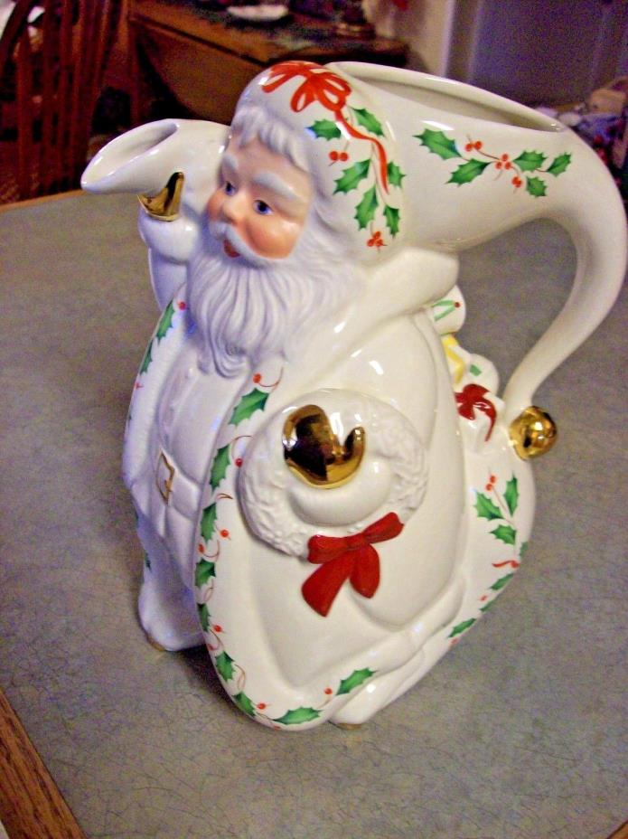 LENOX HOLIDAY SANTA COLLECTION PITCHER9