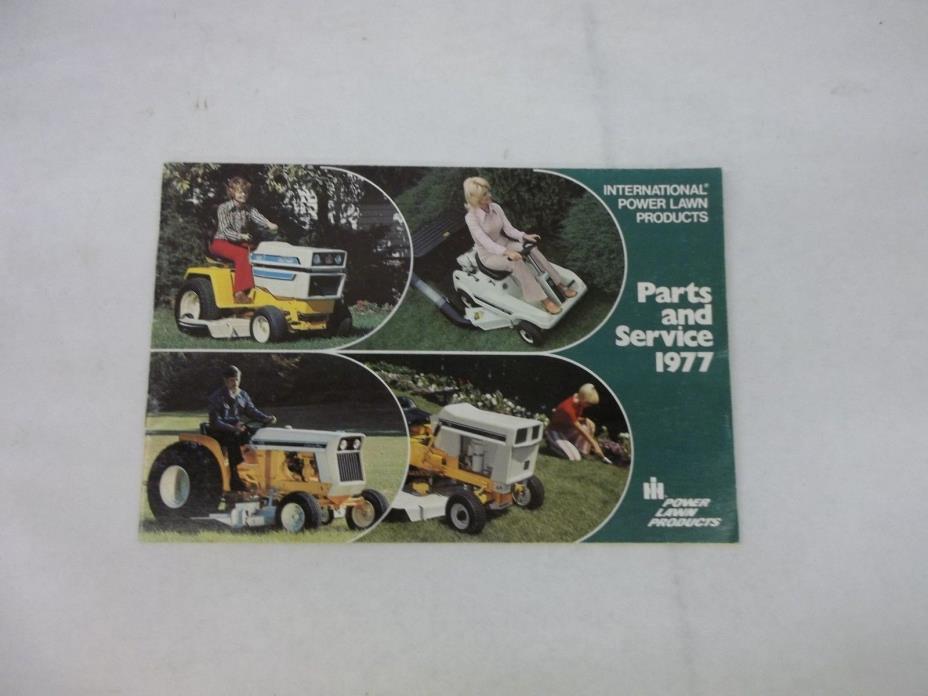 Cub Cadet 154 Lo Boy 1450 1650 1977 Parts and Service Brochure