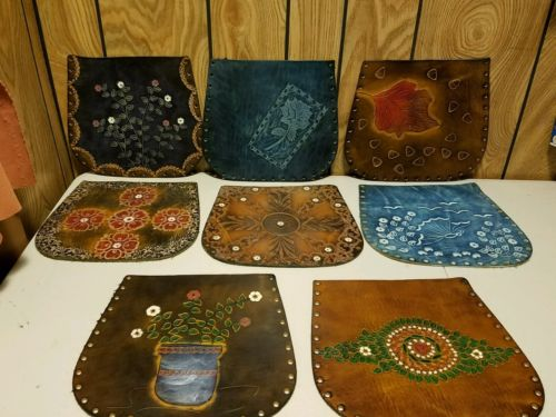 Designed Leather Parts for Handbags