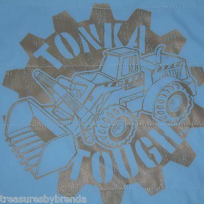Construction Trucks Tonka Tough Blue Vest Boy's Size 5