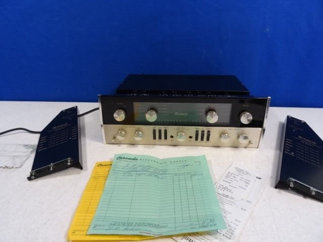 Vintage 1967 Mcintosh C22 Pre-amplifier works great