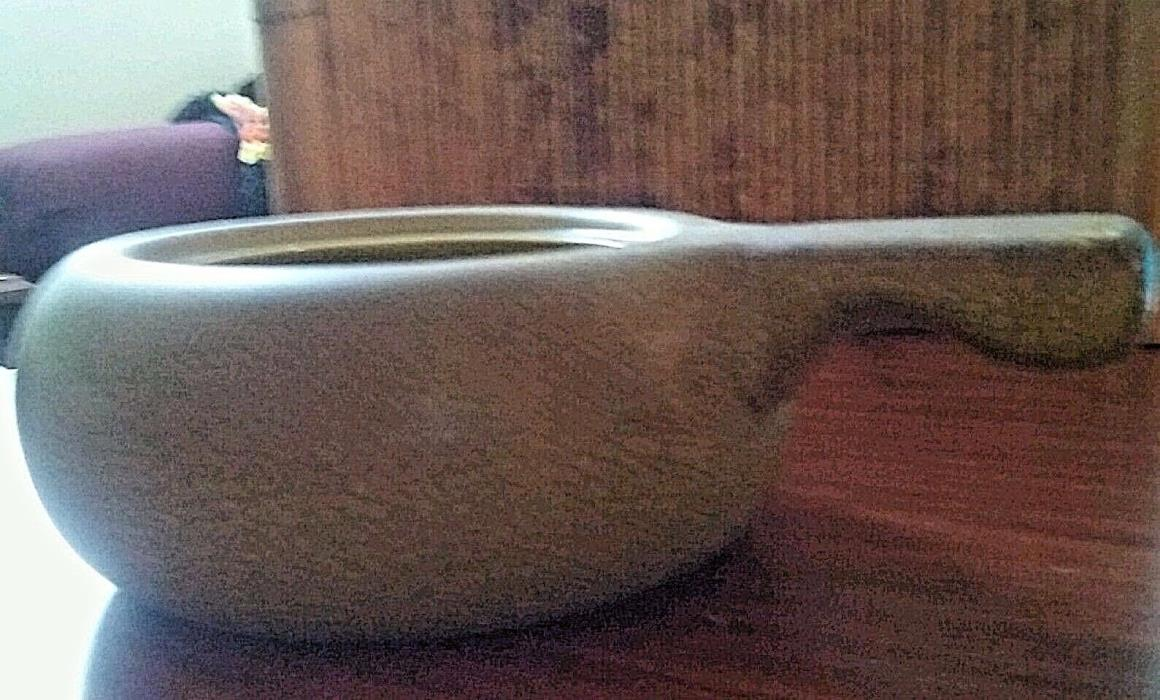 VINTAGE RUSSEL WRIGHT STEUBENVILLE AMERICAN MODERN CHARTREUSE COVERED CASSEROLE