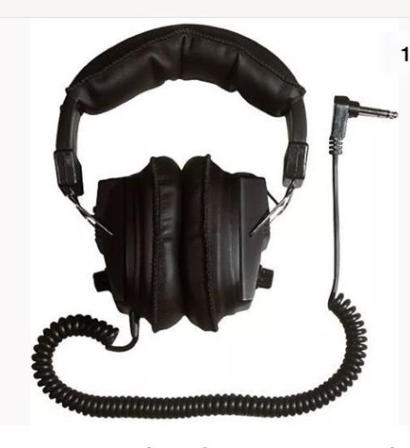 Garrett Dual Volume Control Master Sound Deluxe Detector Headphones 1603000