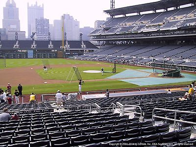 4 Pittsburgh PIRATES OPENING DAY Tickets ATLANTA BRAVES Lower Level INFIELD 4/7