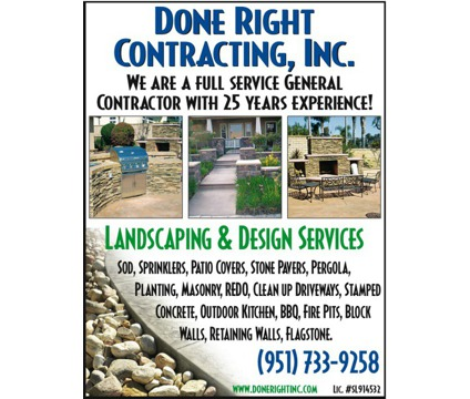 Landscaping Design and Install FULL SERVICE