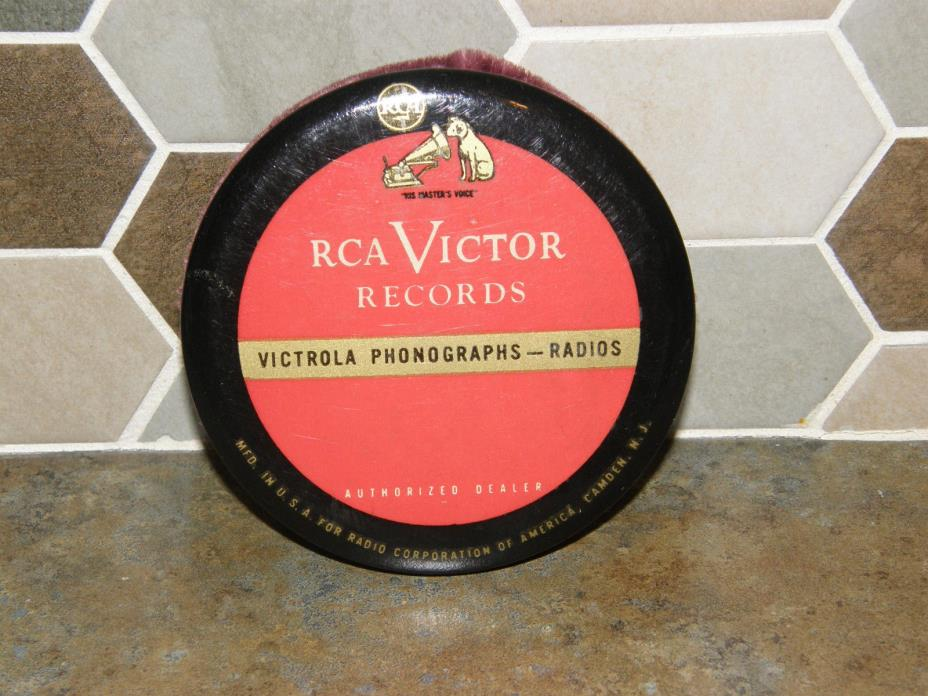 Vtg. RCA Victor Records Victrola Phonograph Player Record Vinyl LP Dust Cleaner