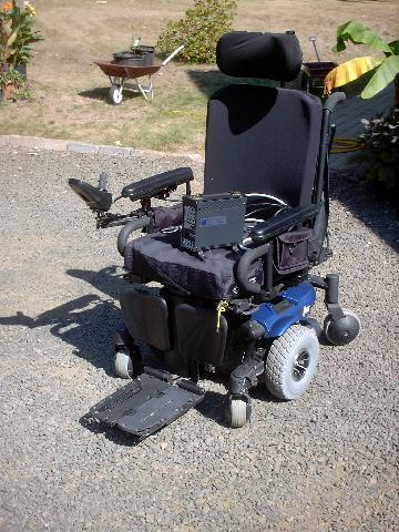 Power Wheel Chair Pride Mobility J6