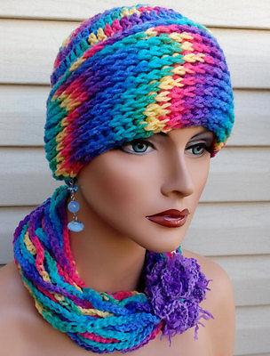 Women Hat, Crochet Women Hat, Infinity Scarf, Scarf, Women Scarf, Hat and Scarf