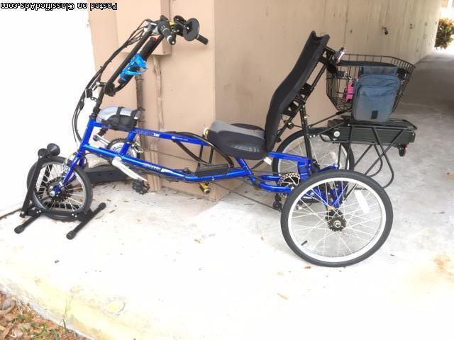 Recumbent E Bicycle