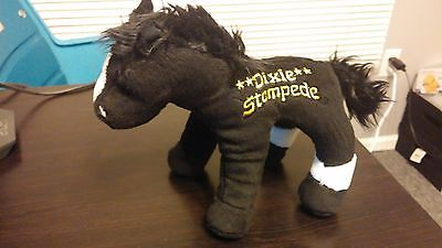 Black & White Horse - MIDNIGHT - DIXIE STAMPEDE - Stuffed Animal