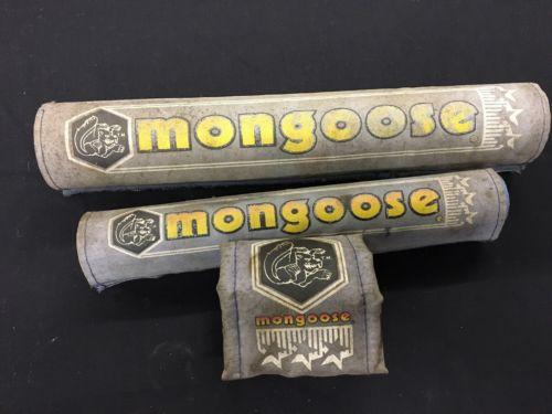 Old-School Bmx Vintage Bmx Mongoose Padset