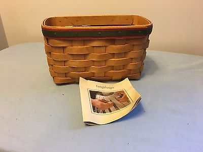 Longaberger small basket