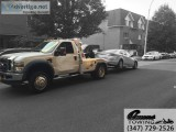 Blocked driveway towing service