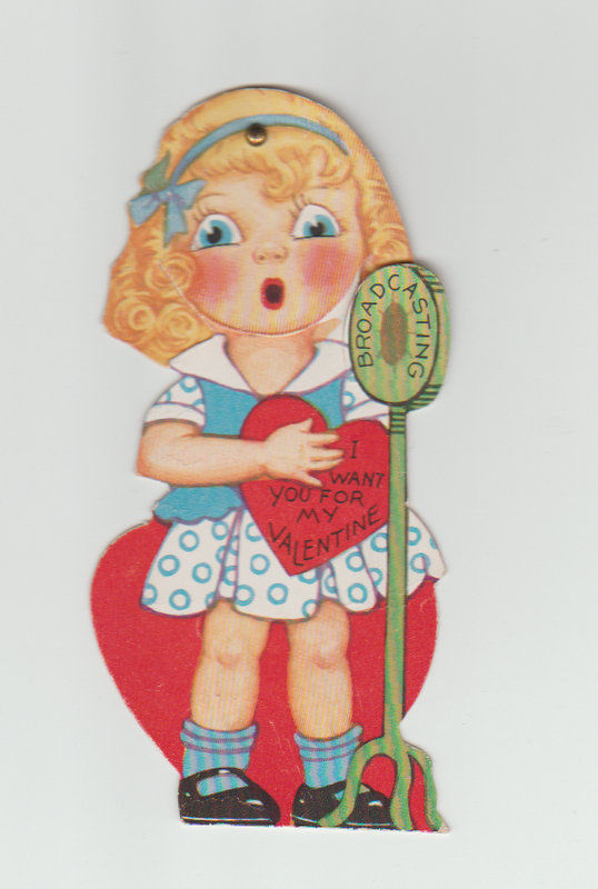 Mechanical Vintage Valentine, Broadcaster