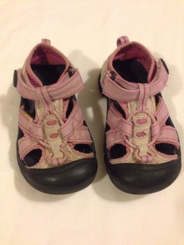 KEEN Pink Girl's Toddler Sandals/Shoes Size 10