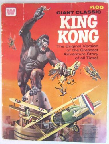 Vintage 1968 Whitman Giant Classic KING KONG Original Version Comic Book