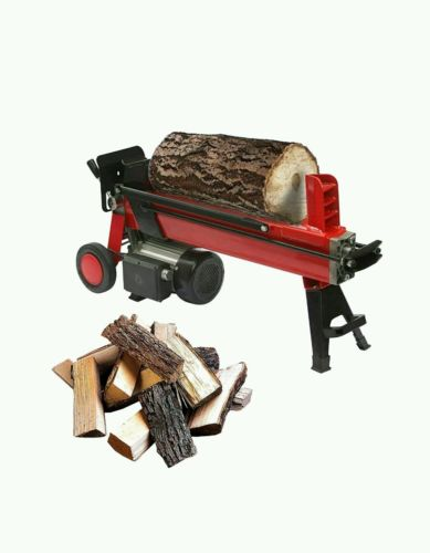 ALEKO 4-Ton Electric Log Splitter Wood Splitter Logsplitter