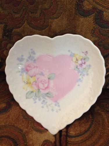 Mikasa Porcelain Heart Dish