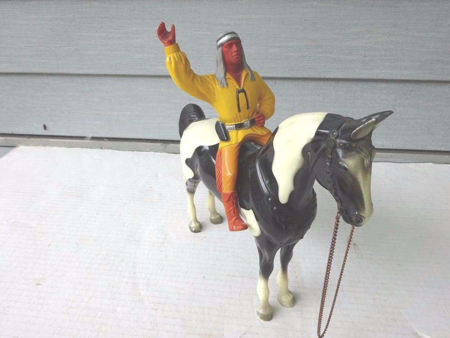 Hartland Cochise with Standing Black and White Horse