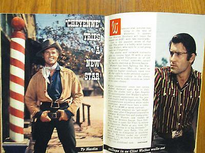 Sept-1958 TV Guide(CLINT  WALKER/PERRY MASON/TY  HARDIN/ANDY WILLIAMS/NAN LESLIE