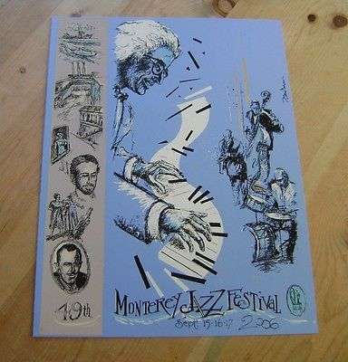 Monterey Jazz Festival Poster - For Sale Classifieds
