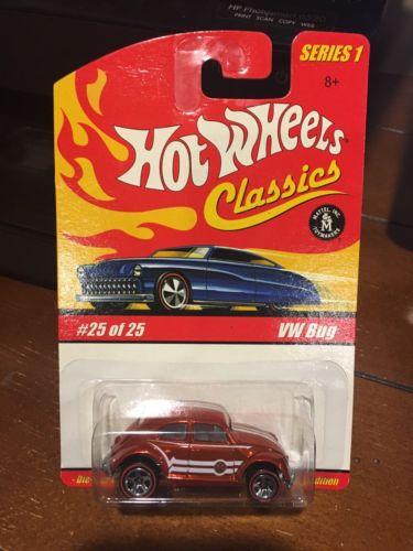 Hot Wheels Classics Series 1 Red Lines VW Big #25 NIB 1/64