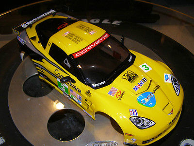 Corvette Racing C6R Finished 1/10 RC Body