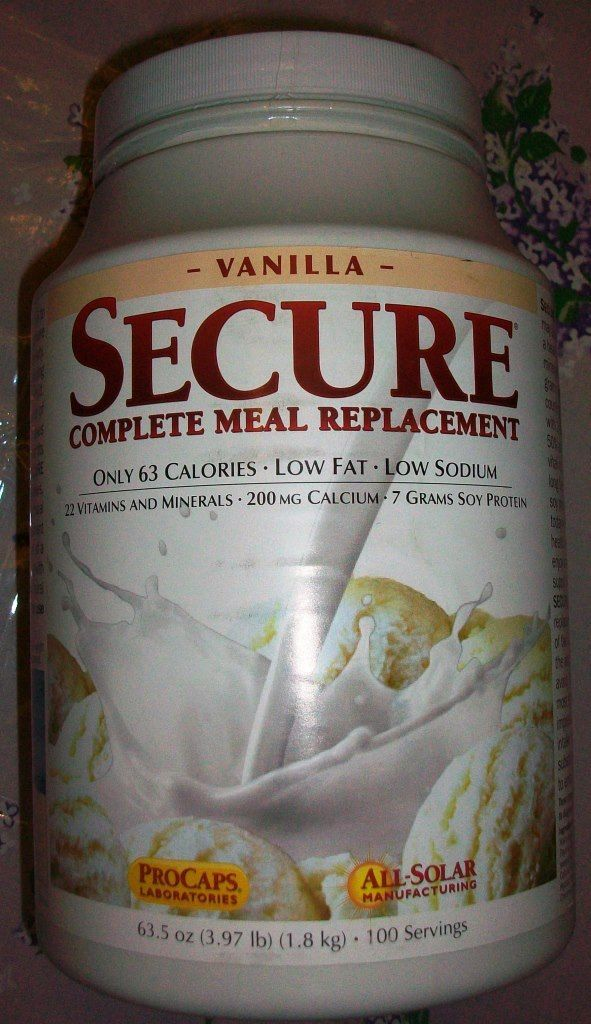 Andrew Lessman Secure Complete Meal Replacement VANILLA  Exp 11/30/17