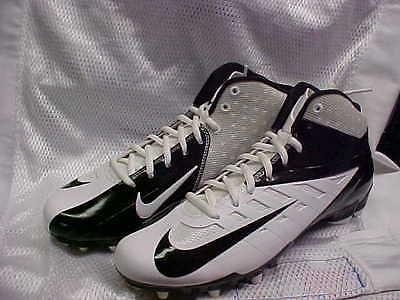 Nike Vapor Pro 3/4 TD White/Black Football Cleats/shoes 511339-100 Size 11