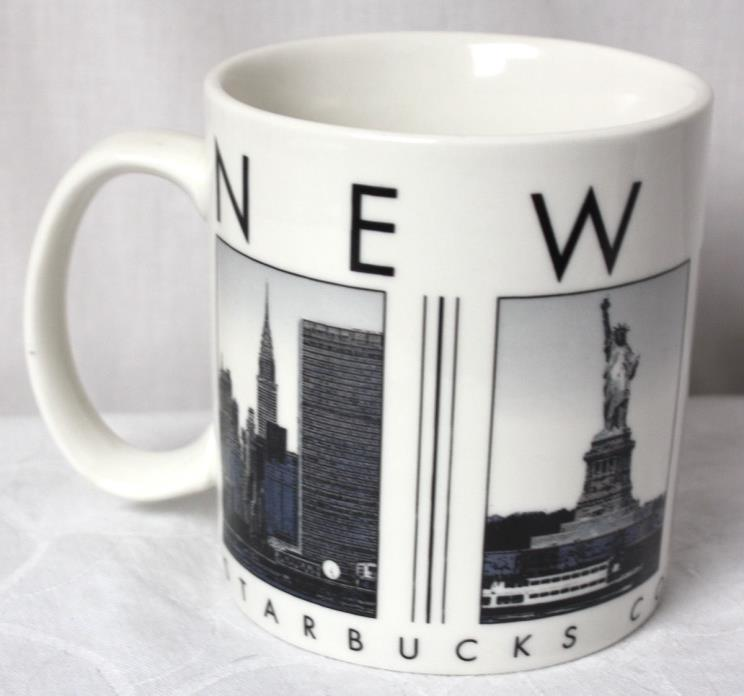 2005 Starbucks NEW YORK Barista City Scenes Series 18 oz Coffee Mug Cup