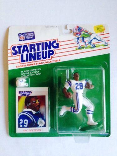 1988 Kenner Starting Lineup Eric Dickerson NIB