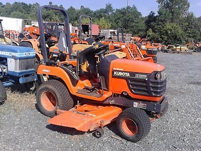 2001 Kubota BX1800D Sub-compact tractor with 60