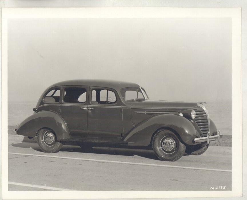1936 Hudson Terraplane Sedan ORIGINAL Factory Photograph ww5831