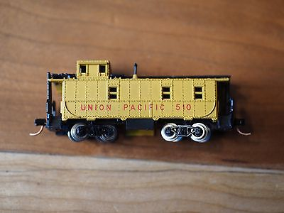 N scale Union Pacific Caboose Arnold