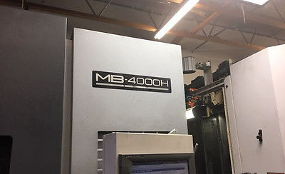 2011 Okuma MB-4000H Horizontal Machining Center