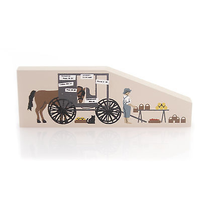 Cats Meow Village AMISH PRODUCE STAND Wood Accessory Farm Vegetable 236 Cm