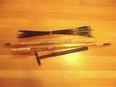 Decorative bushmen African bow & arrows~vintage