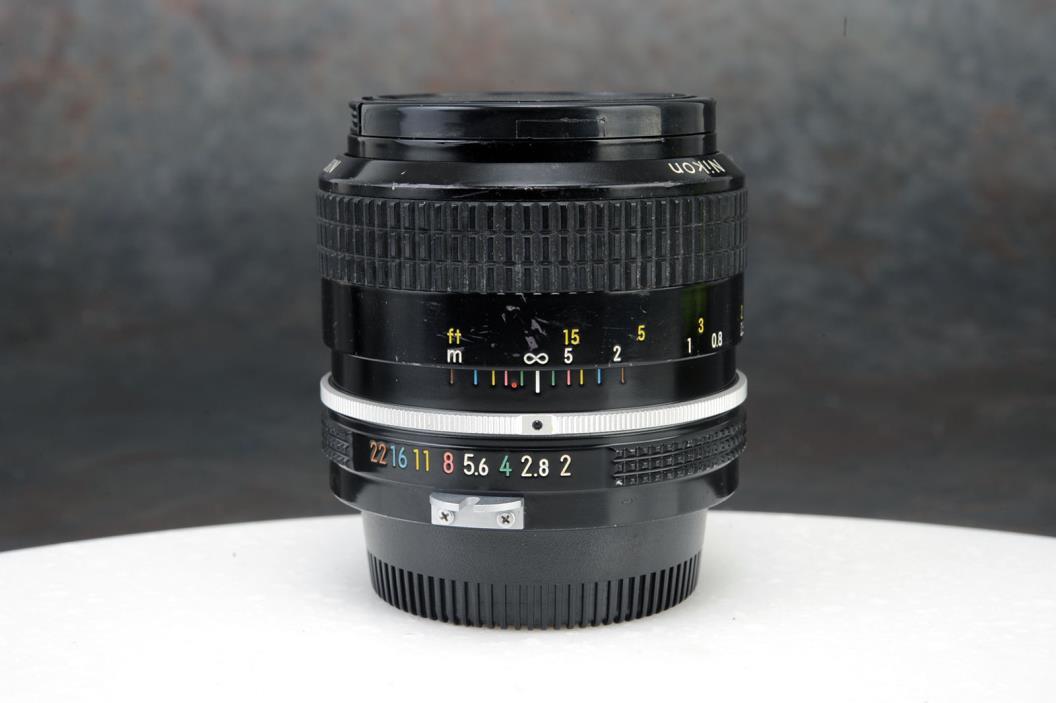- Nikon Nikkor 35mm f2 Lens, Non AI