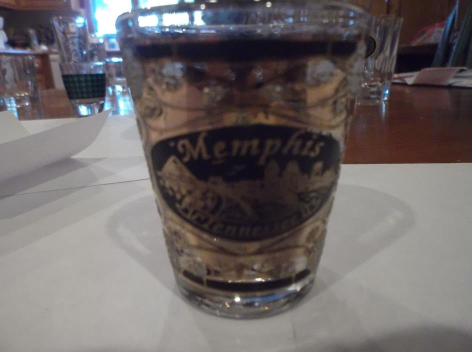 Memphis Tennessee Shot Glass