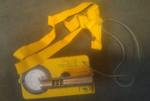 Civil Defense Electro Neutronics CDV-700 CD V-700 Geiger Counter