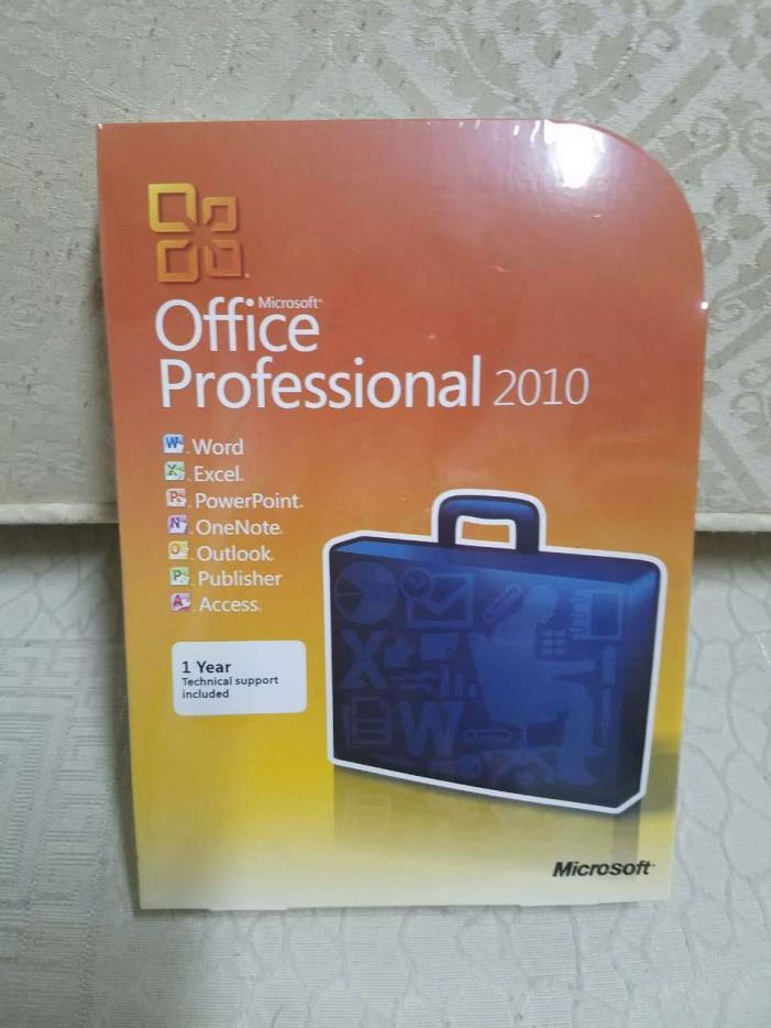 microsoft office 2010 professional key card for sale. Black Bedroom Furniture Sets. Home Design Ideas
