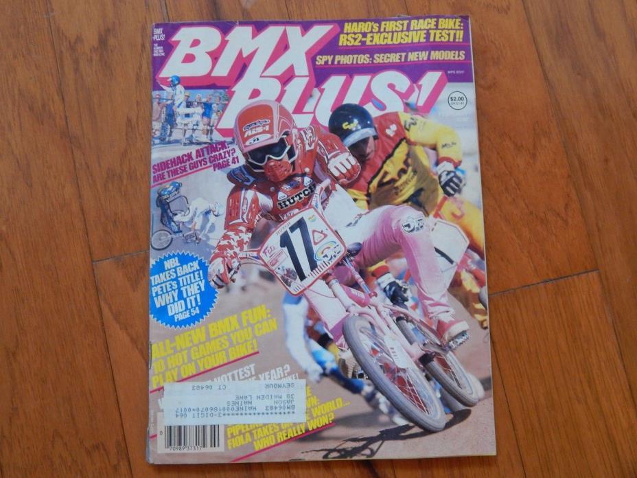 BMX Plus! February 1986 - Vintage 1980s BMX Magazine