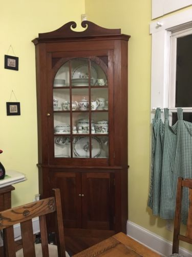 antique corner hutch for sale antique corner china cabinet for classifieds 7470