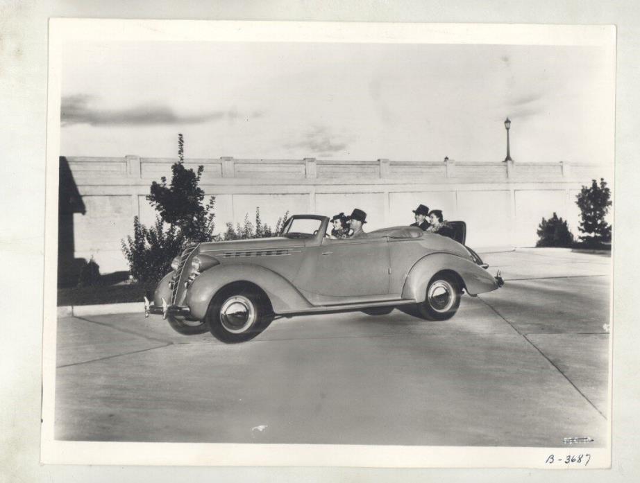 1936 Hudson Terraplane Convertible Coupe ORIGINAL Factory Photograph ww5828