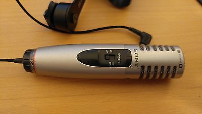 Sony ECM-MS908C Stereo Condenser Video Microphone (3.5mm TRS jack)