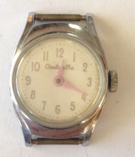 Vintage Child's Cinderella Watch No Band