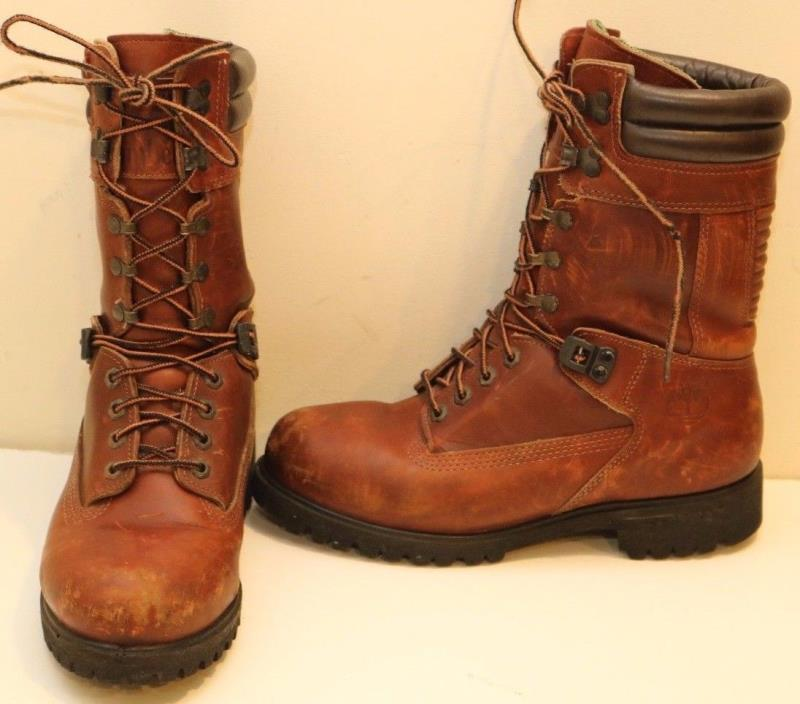 Womens Timberland Gore-Tex Winter Leather Hiking Boots sz. 8